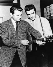Elvis and Sam Phillips