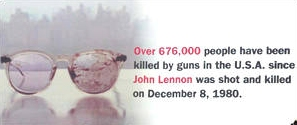 John Lennon killed in New York